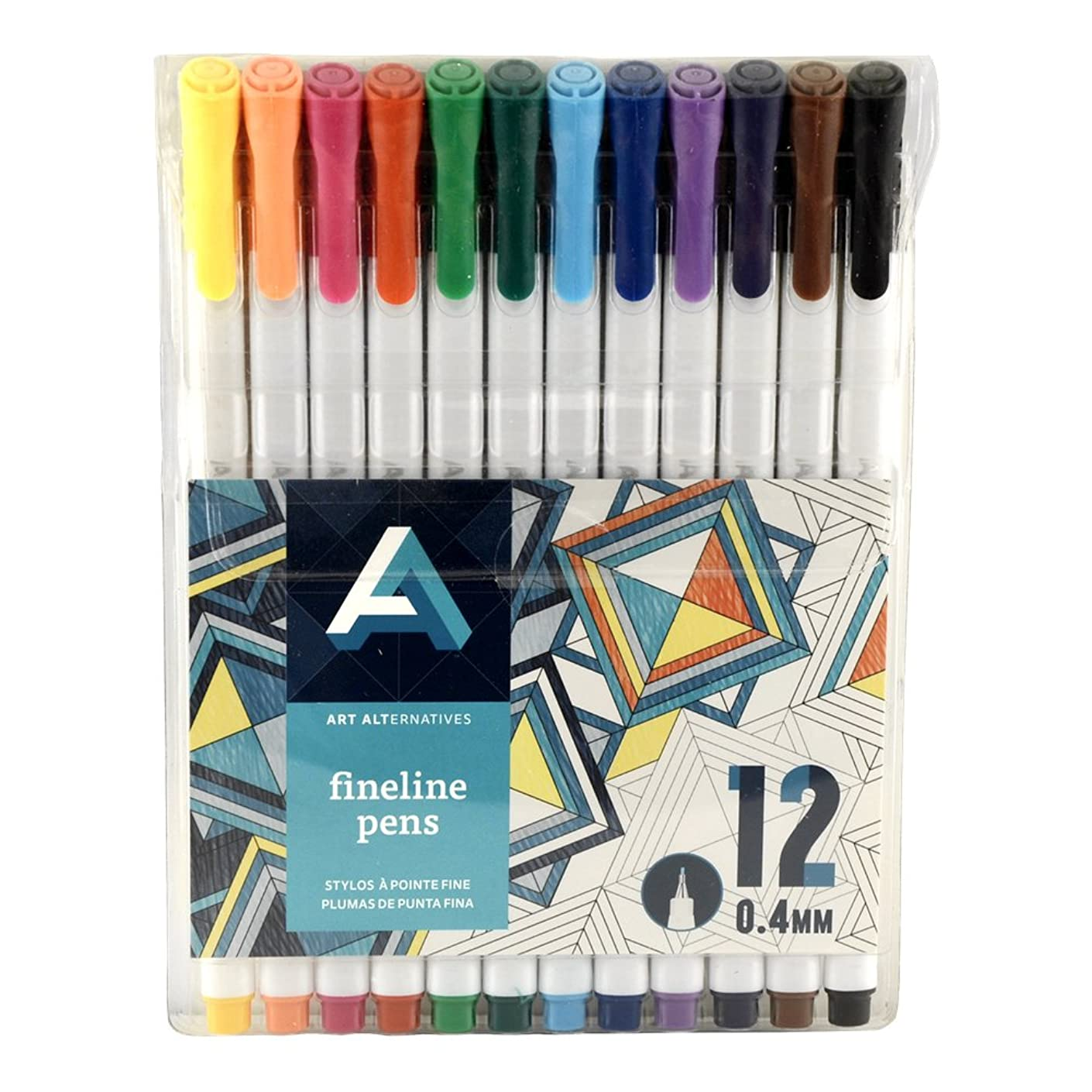 Art Alternatives Fine Liner Pen Set/12