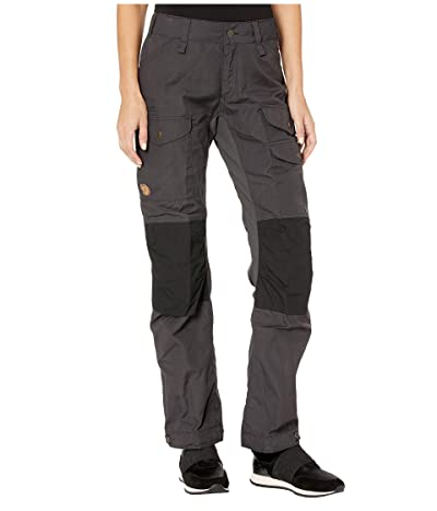 Fjallraven Vidda Pro Ventilated Trousers (Dark Grey/Black) Women