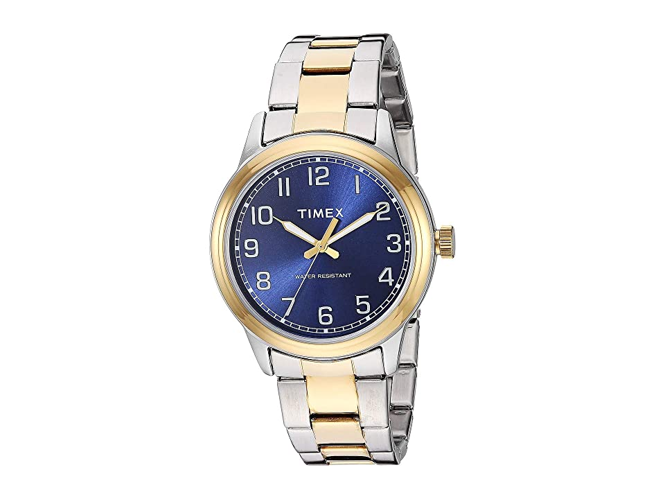 Timex Elevated Classic (Two-Tone) Watches, Metallic