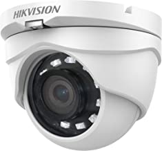 Sponsored Ad - Hikvision Turbo HD Analog 1080P/2MP 4-in-1 IR Turret Camera DS-2CE56D0T-IRMF(2.8mm)