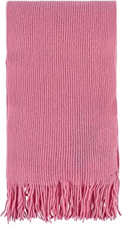 Great & British Knitwear Men's and Ladies ZT018 100% Cashmere Scarf with Fringe. Made in Scotland-Coulis-One Size