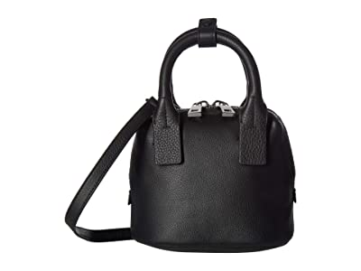 Vince Camuto Kimi Small Satchel (Nero) Satchel Handbags