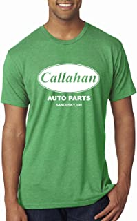 Callahan Auto Parts Sandusky Ohio Retro 90s Funny Tommy Boy | Mens Pop Culture Premium Tri Blend T-Shirt