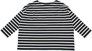 [ジョンブル Johnbull] ボートネックボーダーTシャツ ボーダー長袖Tシャツ レディースTシャツ ZC218
