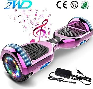 2WD Hoverboard 6.5 Scooter eléctrico Las Ruedas LED Luces ...