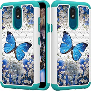 StarCity LG K30 2019 Case, Glitter Sparkly Diamond [Drop Protection] Hybrid Armor Protective Case for LG K30 2019 / LG Ari...
