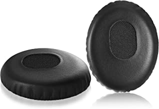 QC3 Earpads, JARMOR Replacement Memory Foam Ear Cushion Cover Kit for Bose QuietComfort 3, On Ear, OE1 Headphones ONLY, Black