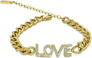 J&M Chain Bracelet for Women LOVE