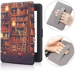 BENGKUI Etui na nadgarstek do Kindle Paperwhite 1 2 3 Smart Cover do czytnika e-booków Tablet Case do Paperwhite 1/2/3 DP7...