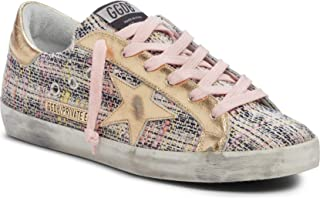 [ゴールデングース] レディース スニーカー Golden Goose Superstar Low Top Sneaker ([並行輸入品]