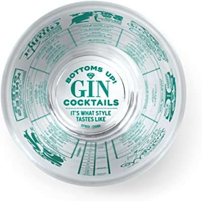 FRED 5193289 Good Measure Cocktail Recipe Glass, Gin 16 Ounce