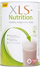 XLS Nutrition Weight Loss Meal Replacement Shake - Weight Control Diet Supplement - 400g, Strawberry Flavour, 10 Servings