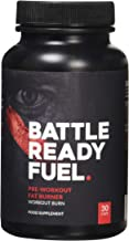 Battle Ready Fuel Pre-Workout Fat Burner Thermogenic Nutritional Supplement 30 Capsules Estimated Price : £ 19,41