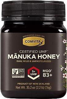 Comvita Certified UMF 5+ (MGO 83+) Raw Manuka Honey I New Zealand's #1 Manuka Brand I Authentic   Non-GMO Superfood for Da...