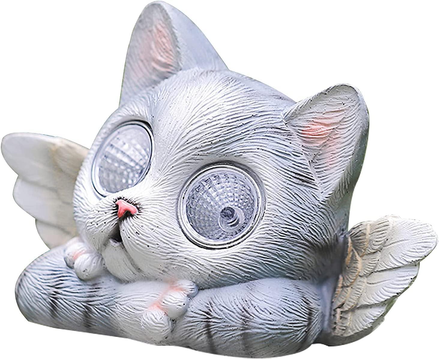 Chanety Solar Indefinitely Light Wholesale Cat Decoration in Animal Garden Statue