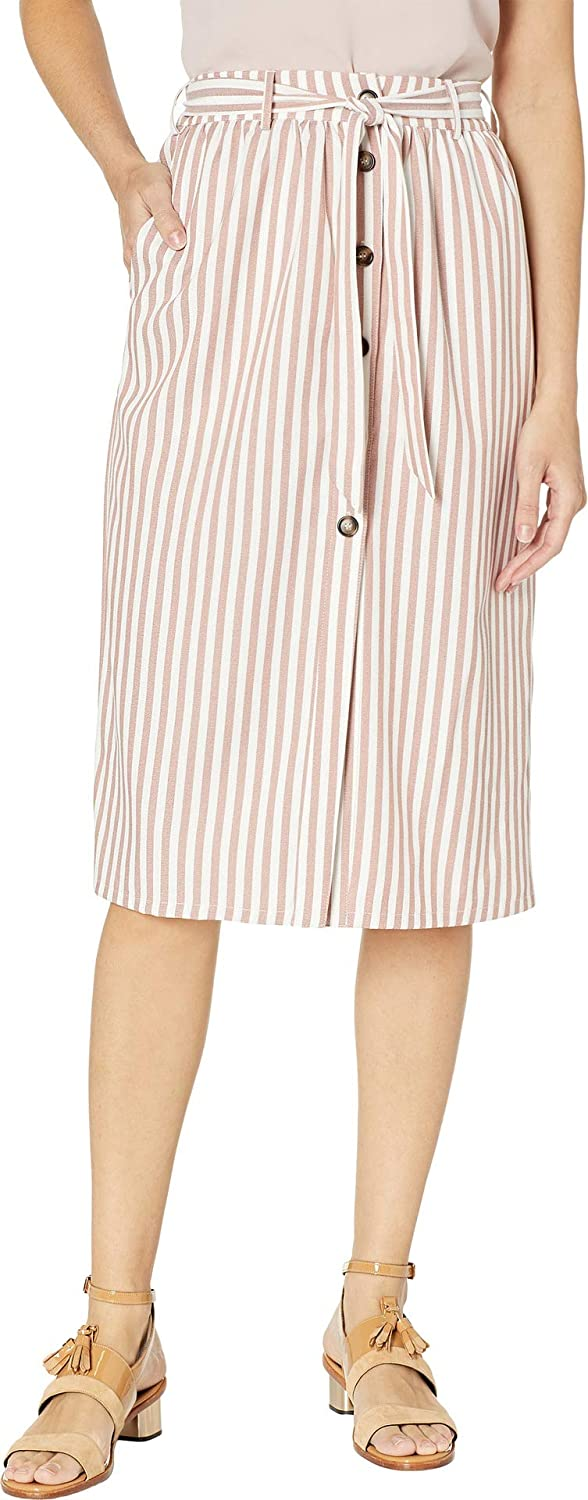 Bishop + Young Women& 39;s Button Front Skirt