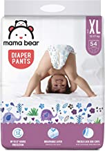 Amazon Brand - Mama Bear Baby Diaper Pants, Extra Large (XL) - 54 Count