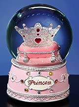 The San Francisco Music Box Company Princess Crown Water Globe