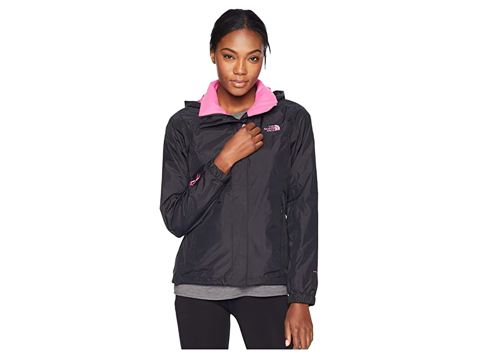 The North Face PR Resolve Jacket (TNF Black/Raspberry Rose) Women