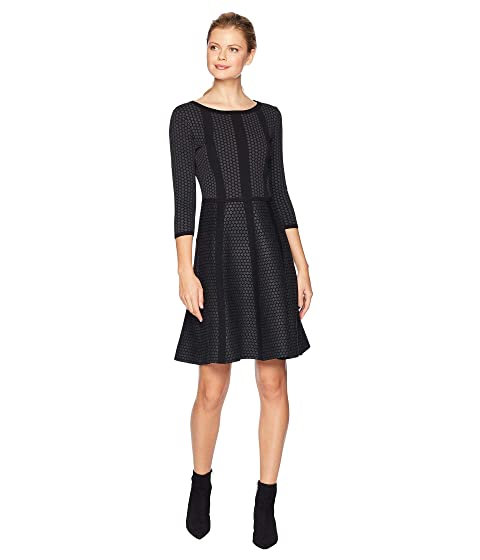 Gabby Skye Fit Amp Flare Sweater Dress At 6pm