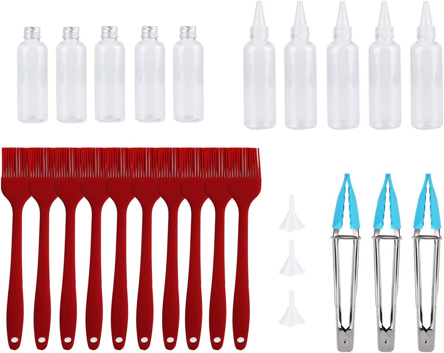 Pelnotac 26Pcs Grill Accessories Tools Brush Alumin Oil Set Max Elegant 42% OFF Clip