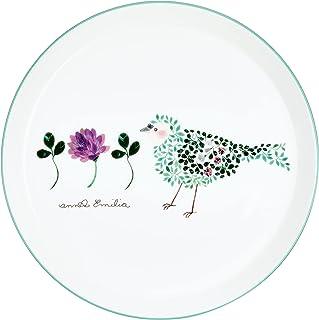 NARUMI(ナルミ) プレート 皿 アンナ・エミリア とり 径19cm 電子レンジ温め 食洗機対応 51950-5644P