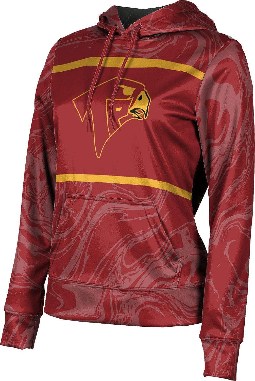 ProSphere Torrey Pines High School Girls' Pullover Hoodie, School Spirit Sweatshirt (Ripple)