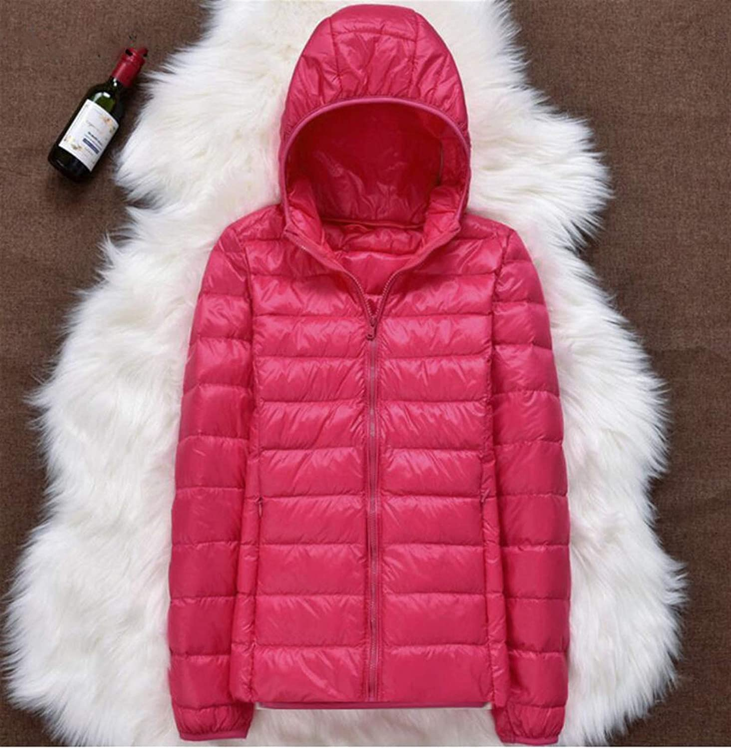 Thickened Down Jacket Leather Plaid Light Rapid rise Winter New Ultra Large special price Coat