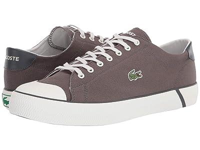 Lacoste Gripshot 220 1 (Dark Grey/Off-White) Men
