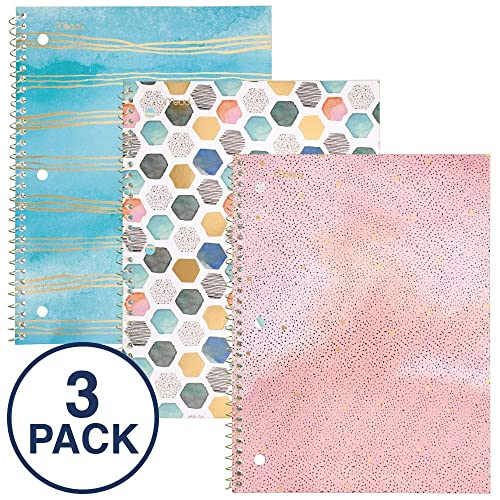 Cute Spiral Notebook: Amazon com