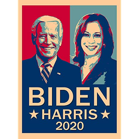 Kamala Harris /'Hindsight Is 2020/' Official Campaign Poster 11 x 17 Joe Biden
