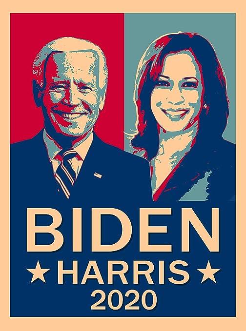 3 sizes available art print of original illustration Vote Biden Harris 2020