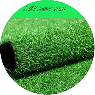 YNFNGX Comfortable And Soft Synthetic Lawn 20mm Pile High Outdoor Grass Carpet Green Plastic Fake Turf Decoration Store Ba...