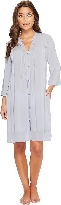Donna Karan - Viscose Slub Woven Sleepshirt