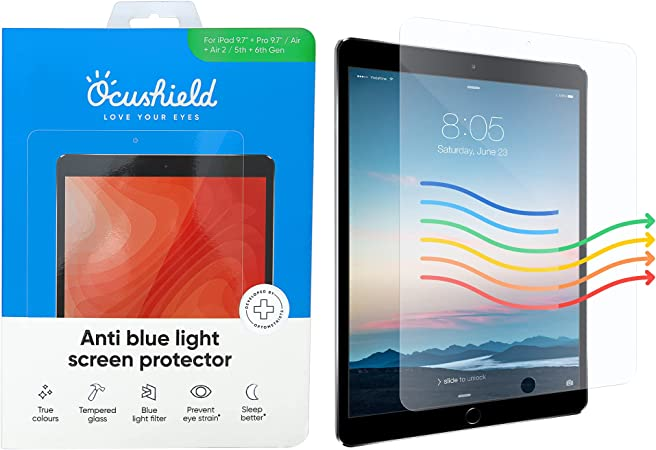 Test ocular iPad)