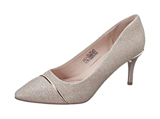 Club Aldo Faux Leather Glitter Embellished Pointed-Toe Heels for Women