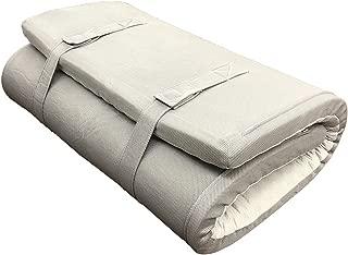 西川リビング マットレス グレー 8×97×195cm 8cm厚 寝がえりが打ちやすい プロファイル 体圧分散 2460-56584