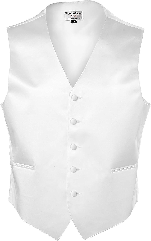 Tuxedo Park Color Satin Vest with Back