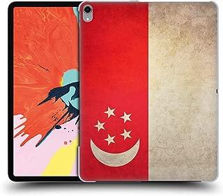 Head Case Designs Singapore Singaporean Vintage Flags Hard Back Case Compatible for iPad Pro 12.9 (2018)