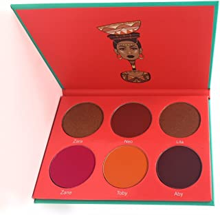 Juvia's Place The Saharan Blush Palette Vol. 1 for Women Makeup