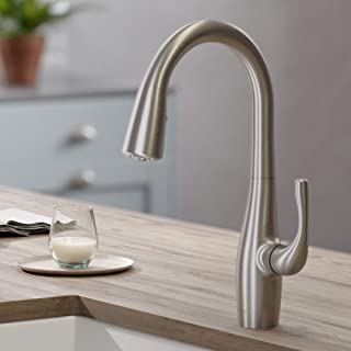 KRAUS KPF-1670SFS Esina Dual Function Pull, Faucets for Kitchen Sinks, Single-Handle, Spot Free Stainless Steel