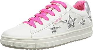 Geox J Rebecca Girl B, Sneakers Basses Femme