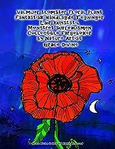 Valmuer blomster floral Plant Fantastisk Håndlagde Tegninger Lær kunststil Mønstret surrealismen Collectible fargebøker by...