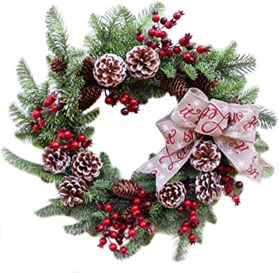 Real White Bumpy Starfish Pine Cone Ornament ~ Hand-made Christmas Decor ~New!