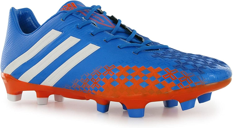 Adidas Predator LZ TRX FG Soccer Cleat bluee orange Size 9