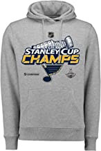 NHL Hoody St. Louis Blue Stanley Cup Champions 2019 Locker Room Hooded Sweater Hoodie Pullover capuchon pullover