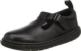 Dr. Martens 中性款儿童 Ryan Y 黑色 T 层压凉鞋