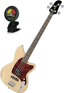 Ibanez TMB100IV Ivory Talman Bass Series Electric Bass w/ Tuner