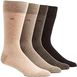 Calvin Klein Men's Knit Crew Socks - 4 Pack