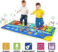 m zimoon Alfombra de Piano, Estera de Música Alfombra de Teclado Táctil Musical Touch Juego Musical para Bebé Niños